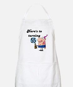 55th Birthday BBQ Apron