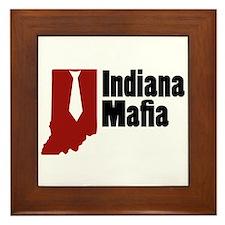 Indiana Mafia Framed Tile