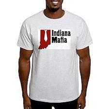 Indiana Mafia Ash Grey T-Shirt