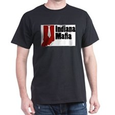 Indiana Mafia Black T-Shirt