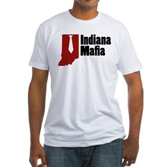 Indiana Mafia Fitted T-Shirt