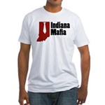 Indiana Mafia Fitted T-Shirt