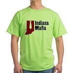 Indiana Mafia Green T-Shirt