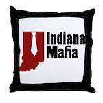 Indiana Mafia Throw Pillow