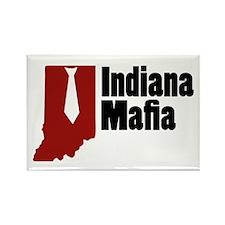 Indiana Mafia Rectangle Magnet