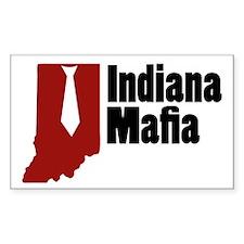 Indiana Mafia Rectangle Sticker