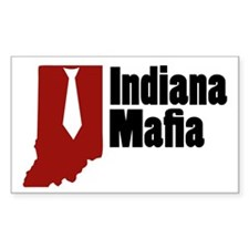 Indiana Mafia Rectangle Decal