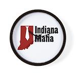 Indiana Mafia Wall Clock