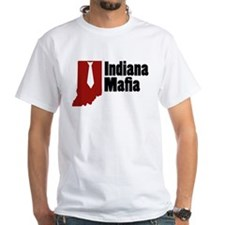 Indiana Mafia White T-Shirt
