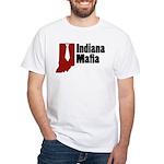 Indiana Mafia White T-Shirt