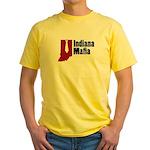 Indiana Mafia Yellow T-Shirt