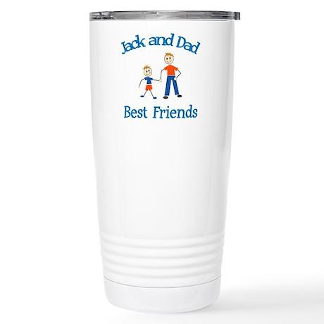 Jack & Dad - Best Friends Stainless Steel Travel M
