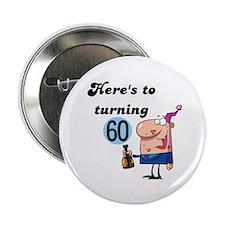 """60th Birthday 2.25"""" Button"""