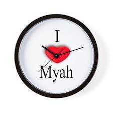 Myah Wall Clock
