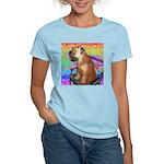 Wheaten Terrier Puppy Women's Pink T-Shirt