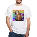 Wheaten Terrier Puppy White T-Shirt