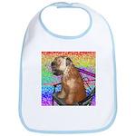 Wheaten Terrier Puppy Bib