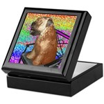 Wheaten Terrier Puppy Keepsake Box