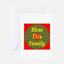 Bless This Family Greeting Cards (Pk of 10)