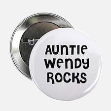 """AUNTIE WENDY ROCKS 2.25"""" Button (10 pack)"""