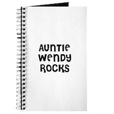 AUNTIE WENDY ROCKS Journal