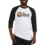 donutBurger copy Baseball Jersey