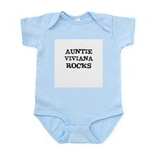 AUNTIE VIVIANA ROCKS Infant Creeper