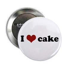 I love cake Button