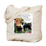 Border collie Regular Canvas Tote Bag