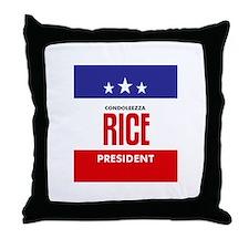 Rice 08 Throw Pillow