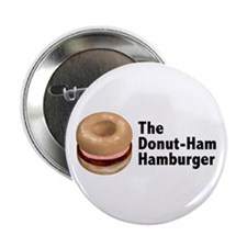 Donut Ham Hamburger Button