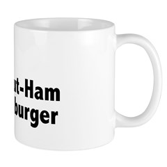 Donut Ham Hamburger Mug