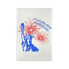 Freedom Liberty Rectangle Magnet