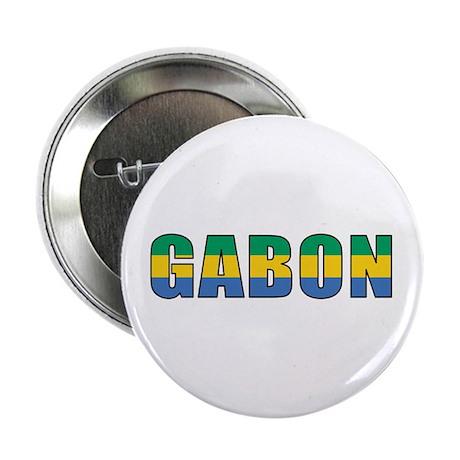 """Gabon 2.25"""" Button"""