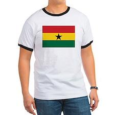 Ghana Flag T