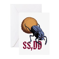 Same Shit, Different Day Greeting Cards (Pk of 20)