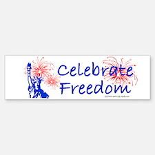 Freedom Liberty Bumper Bumper Sticker