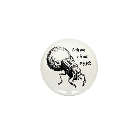 Ask Me About My Job Mini Button (100 pack)