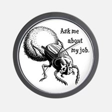 Ask Me About My Job Wall Clock