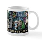 Amazingly colorful Godchecker Mug!