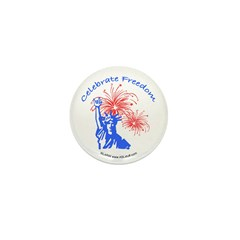 ILY Freedom Liberty Mini Button (100 pack)