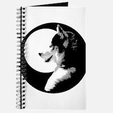 Siberian Husky Sled Dog Journal