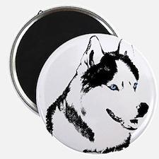 Siberian Husky Magnets Sled Dog Fridge Magnet