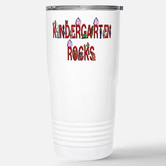 Kindergarten Rocks Stainless Steel Travel Mug