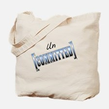 Uncommitted Bad Attitude Tote Bag