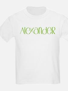 Alexander lime T-Shirt