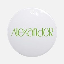 Alexander lime Ornament (Round)