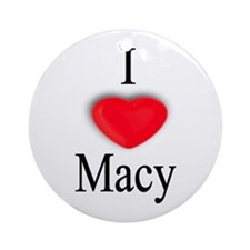 Macy Ornament (Round)