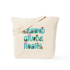 Second Grade Rocks Tote Bag