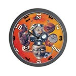 'Clockwork Orange' wall clock